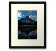 Gore range sunrise, Framed Print