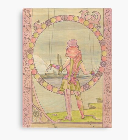 Steampunk Marionette Canvas Print