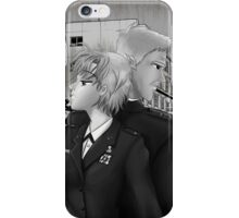 Monochrome Collection: Someday - Stargate SG-1 Sam/Jack - Manga Illustration iPhone Case/Skin