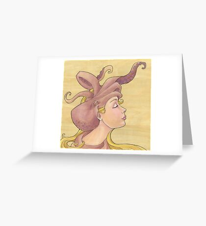 The Octopus Mermaid 11 Greeting Card