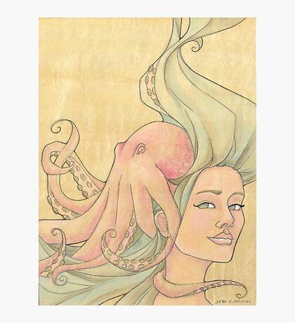The Octopus Mermaid 7 Photographic Print