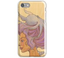 The Octopus Mermaid 4 iPhone Case/Skin