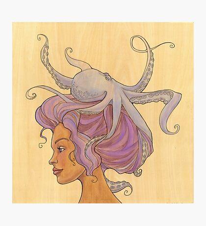 The Octopus Mermaid 4 Photographic Print