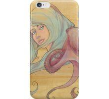 The Octopus Mermaid 3 iPhone Case/Skin