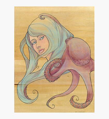 The Octopus Mermaid 3 Photographic Print