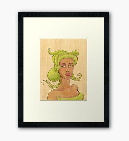 Octopus Mermaid 2 Framed Print