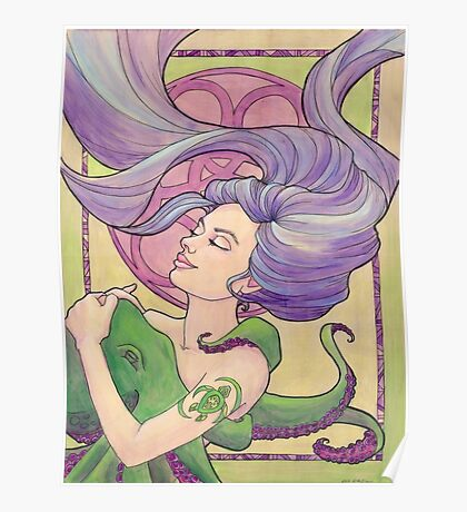 Tattooed Mermaid 9 Poster