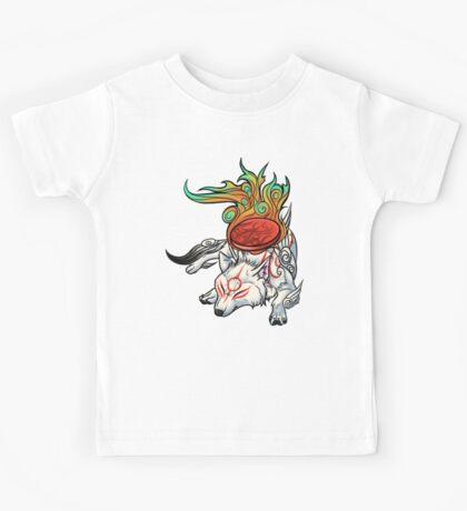 Okami - Amaterasu Rests Kids Tee