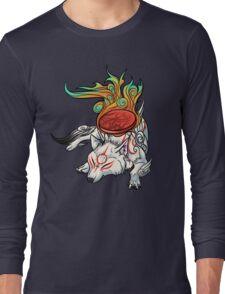 Okami - Amaterasu Rests Long Sleeve T-Shirt