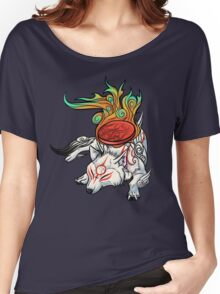 Okami - Amaterasu Rests Women's Relaxed Fit T-Shirt