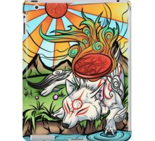 Okami - Amaterasu Rests iPad Case/Skin