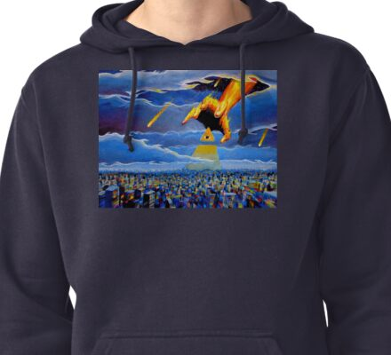 if thine eye offend thee... Pullover Hoodie