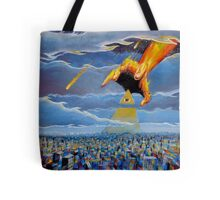 if thine eye offend thee... Tote Bag