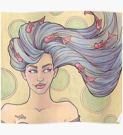 Tattooed Mermaid 7 Poster