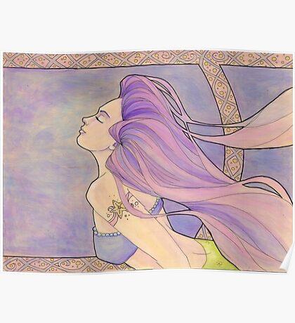 Tattooed Mermaid 4 Poster
