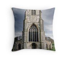 St Nicholas Church, boston Throw Pillow
