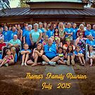 Thomas Family 2015 by Steve Walser