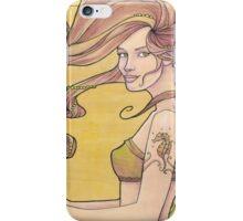 Tattooed Mermaid 2 iPhone Case/Skin