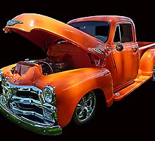 1954 Chev Pickup © by jansnow