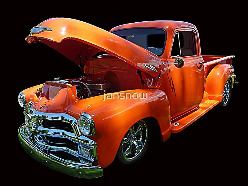 1954 Chev Pickup © by jansnow
