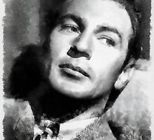 Gary Cooper by John Springfield by esotericaart