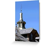 ROOF TOPPER Greeting Card