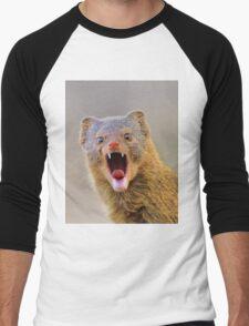 Slender Mongoose - Taking on LIfe Men's Baseball ¾ T-Shirt