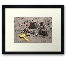 Abandoned by the Builder! Framed Print