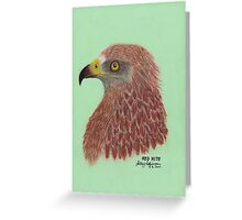 Red Kite Greeting Card