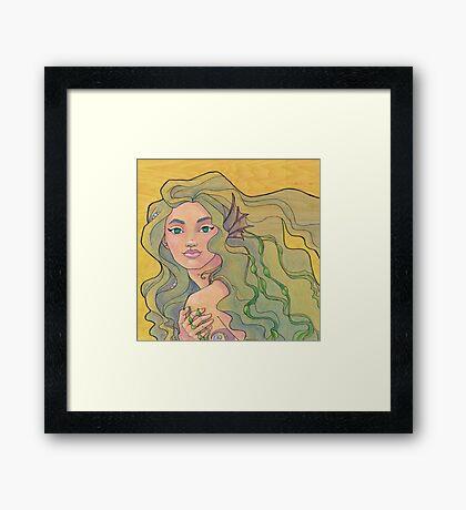 Tattooed Mermaid 12 Framed Print