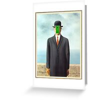 Son of Man Greeting Card