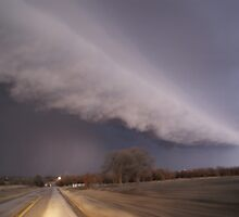 Storm chasing - Alvord, Tx by Nixit
