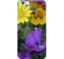 Brightly Coloured Flowers iPhone Case/Skin