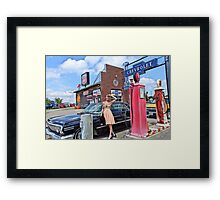 Fueling Up 1 Framed Print