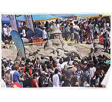 The 30th Annual  Sandcastle Building Contest  Poster