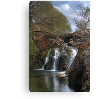 Yorkshire Dales Waterfall Canvas Print