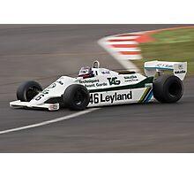 1981 Williams FW07/D Photographic Print
