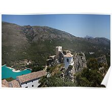 Castell d'Alcozaiba View Poster