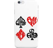 We're All Mad Hear iPhone Case/Skin