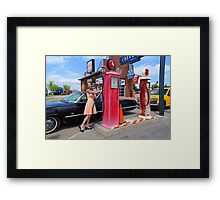 Fueling Up 2 Framed Print