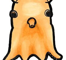 Dumbo Octopus (Grimpoteuthis) by alogism