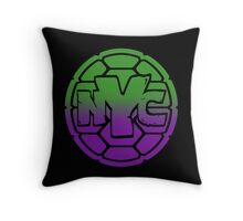 Turtles - NYC  Throw Pillow