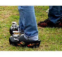 Rockabilly Hot Rod Clogs! Photographic Print