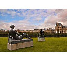 Jardin des Tuileries Photographic Print
