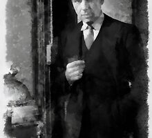 Humphrey Bogart by John Springfield by esotericaart
