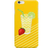 Cute Strawberry Limeade Juicy Drink iPhone Case/Skin