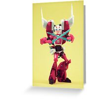 Arcee Greeting Card