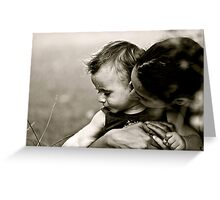 Mother & Son Greeting Card