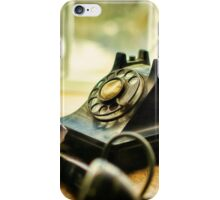 Call Waiting iPhone Case/Skin