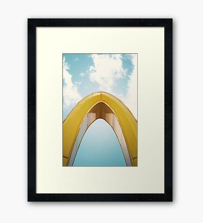 McSanctuary  Framed Print